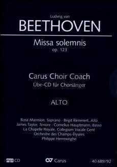 Beethoven Missa Solemnis D-dur Op.123 Alt Chorstimme CD (Carus Choir Coach)