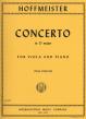 Hoffmeister Concerto D-major Viola-Piano (Paul Doktor)