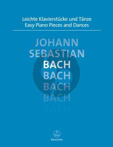 Bach Leichte Klavierstucke und Tanze (Topel)
