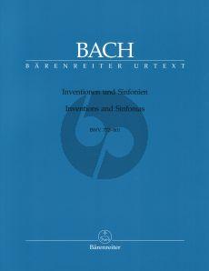 Bach Inventionen und Sinfonien (BWV 772-801) Klavier