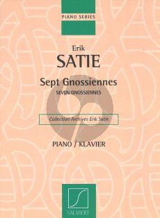 Satie 7 Gnossiennes (Salabert)