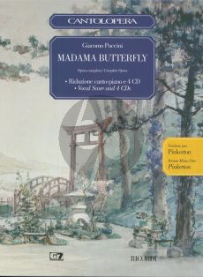 Puccini Madame Butterfly Cantolopera