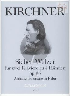 7 Walzer Op.86 (anh. Polonaise F-dur)