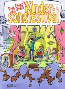 Kinder Songfestival Melodielijn met akkoorden