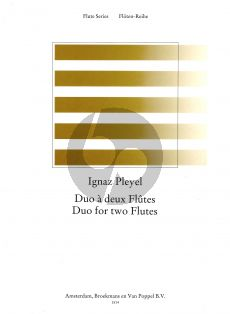 Pleyel Duo 2 Flutes (edited by Frans Vester)