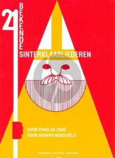Hengeveld 21 Bekende Sint-Nicolaasliederen voor Piano met Zang