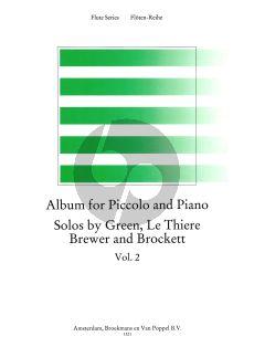 Album for Piccolo-Piano Vol.2 (Green. Le Thiere, Brewer and Brockett) (edited by Trevor Wye) (Grade 6-7)
