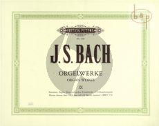 Orgelwerke Vol.9