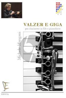 Mangani Valzer e Giga Clarinet(Bb)-Piano