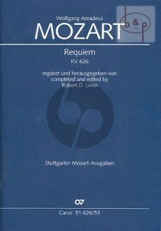 Requiem d-minor KV 626 Soli-Choir-Orch.
