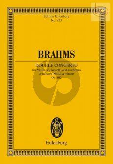 Double Concerto a-minor Op.102 (Vi.-Vc.-Orch.) (StudyScore)