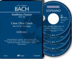 Bach Matthaus Passion BWV 244 Soli-Choir-Orch. Tenor Chorstimme 4 CD's (Carus Choir Coach)