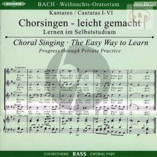 Weihnachts Oratorium BWV 248 Bass Chorstimme