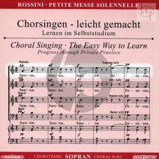 Petite Messe Solennelle CD Sopran Chorstimme
