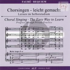 Requiem Op.48 Alto Voice CD
