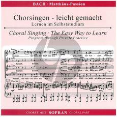 Bach Matthaus Sopran CD