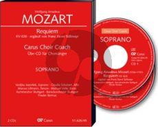 Mozart Requiem KV 626 Soli-Choir-Orch. (Süssmayr Version) Tenor Chorstimme 2 CD's (Carus Choir Coach)