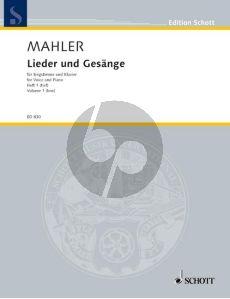 Mahler Lieder & Gesange Vol.1 (Tief)