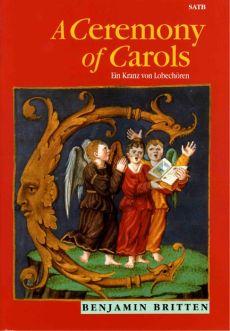 Britten A Ceremony of Carols SATB-Harp [Piano] (Vocal Score)