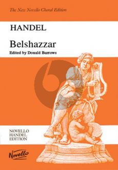 Handel Belshazzar HWV 61 Soli-Choir and Orchestra (Vocal Score) (Donald Burrows)