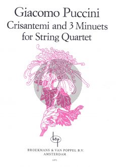Puccini Crisantemi & 3 Minuets 2 Vi.-Va.-Vc. (Parts) (edited by Jan Hollanders)