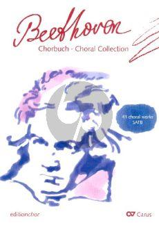 Beethoven Chorbuch Beethoven SATB (Jan Schumacher)