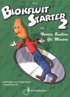 Buskens-Masters Blokfluit Starter Vol.2 (Methode voor Beginners) (Bk-Cd)