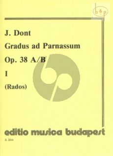 Gradus ad Parnassum Op.38 Vol.1 Violin