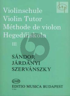 Violin Method Vol.3