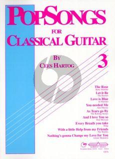 Hartog Popsongs for Classical Guitar Vol.3