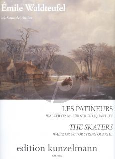Waldteufel Les Patineurs Walzer Op.183 2 Vi.-Va.-Vc.