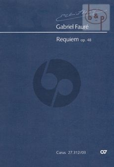 Requiem Op.48 (Soli-Choir-Orch.) (Version 1900)