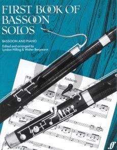First book of Bassoon Solos (Hilling-Bergmann)