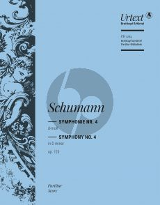 Schumann Symphonie No.4 d-moll Op. 120 Studienpartitur (Joachim Draheim)