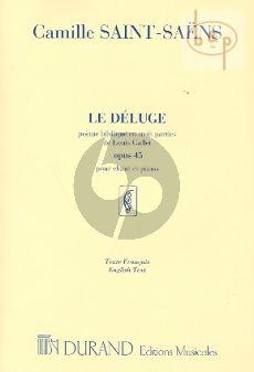 Le Deluge Op.45 (Poeme Biblique en 3 Parties) (Soli-Choir-Orch.)