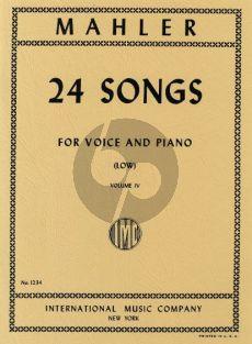 Mahler 24 Songs vol.4 (Low Voice)