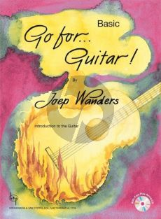 Wanders Go for Guitar! Basic (Introduction to the Guitar) (Bk- 2 Cd's [Demo and Playalong])