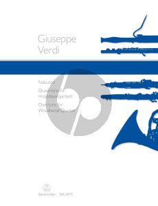 Verdi Nabucco Ouverture Woodwind Quintet (Parts) (Joachim Linckelmann)