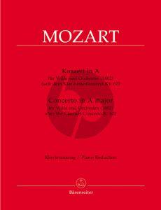Mozart Concerto A-dur nach Klarinettenkonzert KV 622 Viola-Klavier (Christopher Hogwood)