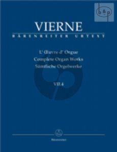 Pieces de Fantaisie Livre 4 No.19 - 24 Op.55 (1927) (Complete Organ Works VII.4)