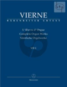 Pieces en Style Libre livre 1 No.1 - 12 Op.31 (1914) (Complete Organ Works VIII.1)