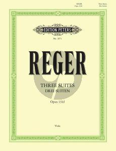 Reger 3 Suiten Op.131d Viola solo (Carl Herrmann)