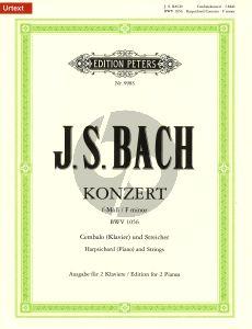 bach Konzert f-moll BWV 1056 Cembalo und Streicher