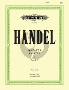 Handel Sonaten Vol.1 No. 1 - 3 Flöte und Klavier (Schwedler)