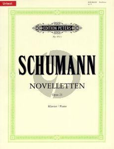 Schumann Noveletten Op.21 Klavier (Adolph Henselt gewidmet Urtextausgabe) (Herausgegeben von Hans Joachim Kohler)