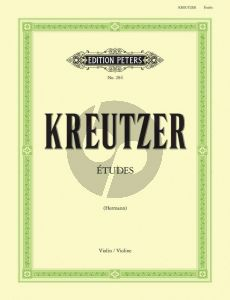 Kretutzer 42 Etuden Violine (Hermann) (Peters)