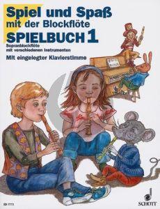 Engel-Heyens Spiel und Spass mit der Blockflöte Sopranblfl. Spielbuch 1
