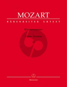 Mozart Sonaten Vol.2 Klavier (Wolfgang Plath und Wolfgang Rehm) (Barenreiter-Urtext)
