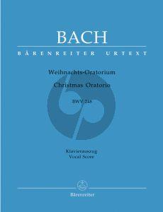Bach Weihnachts Oratorium BWV 248 (KA) (Urtext Neuen Bach-Ausgabe) (engl./deutsch) (ed. A.Durr & W.Blankenburg) (Barenreiter)