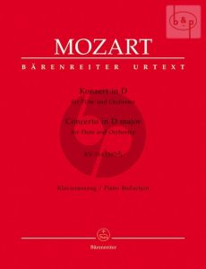 Mozart Concerto D-major KV 314 (285d) Flute-Orchestra (piano red.) (edited by R.Brown & K.Hunteler)